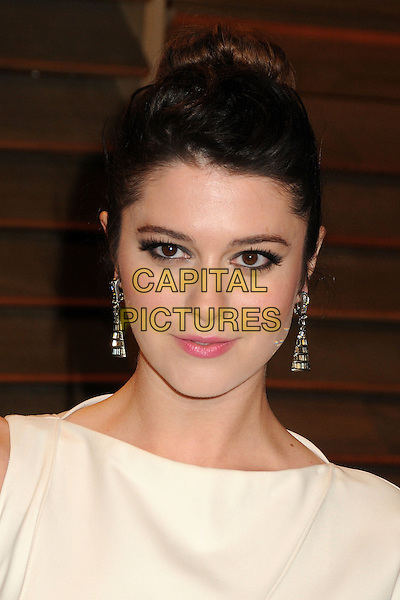 02 March 2014 - West Hollywood, California - Mary Elizabeth Winstead. 2014 Vanity Fair Oscar Party following the 86th Academy Awards held at Sunset Plaza.<br /> CAP/ADM/BP<br /> &copy;Byron Purvis/AdMedia/Capital Pictures