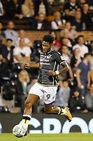 Bristol Rovers' Ellis Harrison on the ball during the Carabao Cup match between Fulham and Bristol Rovers at Craven Cottage, London, England on 22 August 2017. Photo by Carlton Myrie.