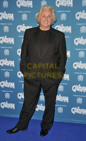 LONDON, ENGLAND - JANUARY 07: David Emanuel attends the &quot;Cirque du Soleil: Quidam&quot; VIP press night, Royal Albert Hall, Kensington Gore, on Tuesday January 07, 2014 in London, England, UK.<br /> CAP/CAN<br /> &copy;Can Nguyen/Capital Pictures