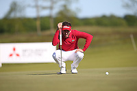 Edouard Espana (FRA) putting on the 7th during Round Two of the 2015 Nordea Masters at the PGA Sweden National, Bara, Malmo, Sweden. 05/06/2015. Picture David Lloyd | www.golffile.ie