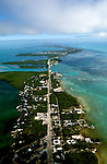 Florida: Florida Keys, aerial at Islamorada.  Photo: flkeys105.Photo copyright Lee Foster, 510/549-2202, lee@fostertravel.com, www.fostertravel.com