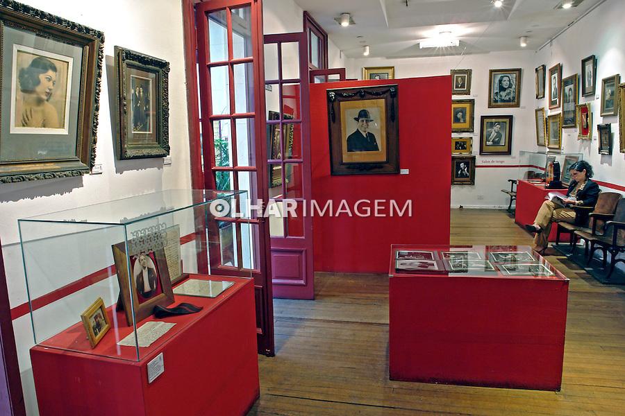 Museu Casa de Carlos Gardel em Buenos Aires. Argentina. 2008. Foto de Caio Vilela.