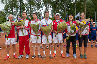 The Hague, Netherlands, 11 June, 2017, Tennis, Play-Offs Competition, Team Egeria Alta<br /> Photo: Henk Koster/tennisimages.com