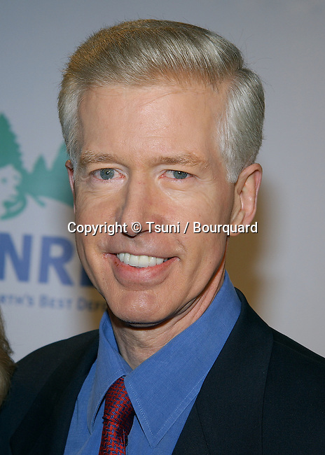 """Gray Davis (Governor of California) arriving at the """" NRDC PRESENTS THE ROLLING STONES IN A FREE CONCERT TO FIGHT GLOBAL WARMING STAPLES CENTER IN LOS ANGELES. February 6. 2003"""