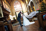Linden and Sadie get Married - Christmas Wedding Lyndhurst New Forest Photographer