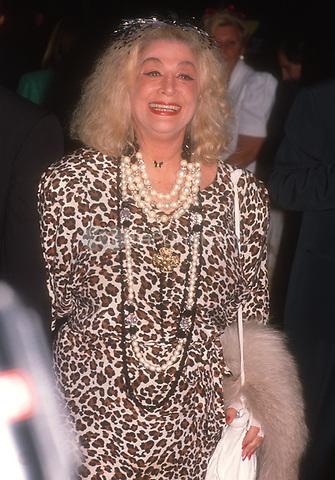 #SylviaMiles 1986<br /> Photo By John Barrett/PHOTOlink.net / MediaPunch