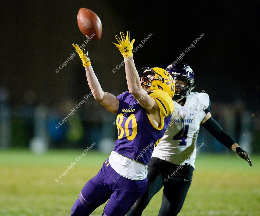 Waunakee at Verona, Wisconsin high school football 10/18/19