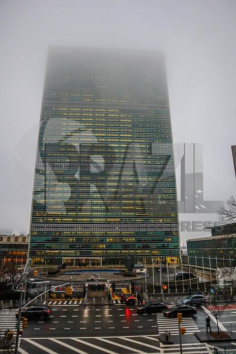NOVA YORK, EUA, 21.12.2018 - TURISMO-EUA - Vista da sede das Nações Unidas na ilha de Manhattan na cidade de Nova York nos Estados Unidos nesta sexta-feira, 21. (Foto: William Volcov/Brazil Photo Press)