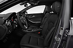Front seat view of a 2018 Mercedes Benz GLA GLA250 5 Door SUV front seat car photos