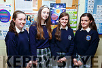 Presentation Secondary school students who are competing in the upcoming National Science Olympiad. L-r, Rachael O'Sullivan, Lia O'Connell, Ciara O'Mahoney and Rebecca Hayes.