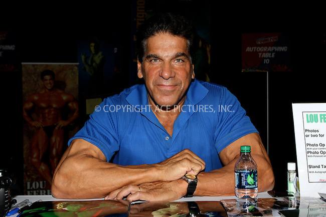 WWW.ACEPIXS.COM....October 13 2012, New York City....Lou Ferrigno at the 2012 New York Comic Con at the Javits Center on October 13, 2012 in New York City....By Line: Nancy Rivera/ACE Pictures......ACE Pictures, Inc...tel: 646 769 0430..Email: info@acepixs.com..www.acepixs.com