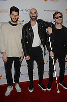 X Ambassadors<br /> at the 4th Annual Wishing Well Winter Gala presented by Make-A-Wish Greater Los Angeles, Hollywood Palladium, Hollywood, CA 12-07-16<br /> David Edwards/DailyCeleb.com 818-249-4998