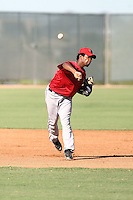 Raul Navarro - Arizona Diamondbacks - 2010 Instructional League.Photo by:  Bill Mitchell/Four Seam Images..