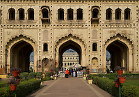Heritage Awadh architecture of Bada Imambada from the 18th century in Lucknow the city of Nawabs. India.
