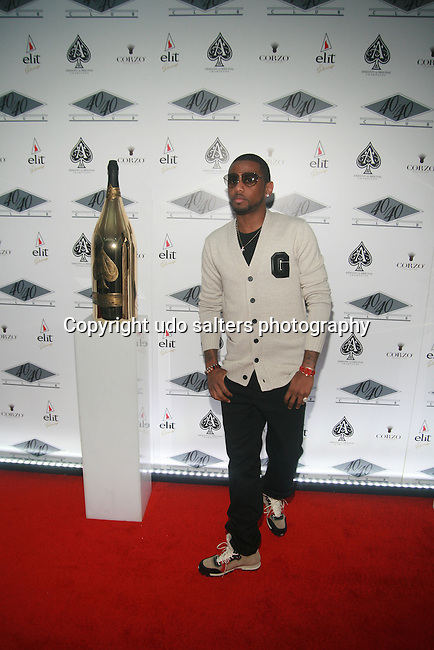 Fabolous Attends the Grand Re-Opening of Jay-Z's 40/40 Club, NY   1/18/12