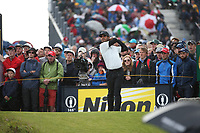 Shubhankar Sharma (IND) during Round One of the 148th Open Championship, Royal Portrush Golf Club, Portrush, Antrim, Northern Ireland. 18/07/2019. Picture David Lloyd / Golffile.ie<br /> <br /> All photo usage must carry mandatory copyright credit (© Golffile | David Lloyd)