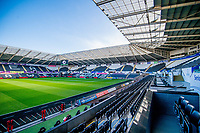 General View of the Stadium inside <br /> Re: Behind the Scenes Photographs at the Liberty Stadium ahead of and during the Premier League match between Swansea City and Bournemouth at the Liberty Stadium, Swansea, Wales, UK. Saturday 25 November 2017
