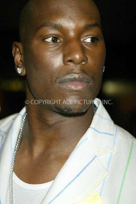 WWW.ACEPIXS.COM . . . . .  ....NEW YORK, AUGUST 9, 2005....Tyrese on MTV's TRL.....Please byline: JENNIFER L GONZELES-ACE PICTURES.... *** ***..Ace Pictures, Inc:  ..Craig Ashby (212) 243-8787..e-mail: picturedesk@acepixs.com..web: http://www.acepixs.com