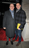 Nigel Lindsay and Lloyd Owen at the &quot;Girl From The North Country&quot; press night, Noel Coward Theatre, St Martin's Lane, London, England, UK, on Thursday 11 January 2018.<br /> CAP/CAN<br /> &copy;CAN/Capital Pictures