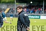 Eamonn Fitzmaurice Kerry Manager, Kerry v Clare in the Munster Senior Football Championship Semi Final in Ennis on Sunday.