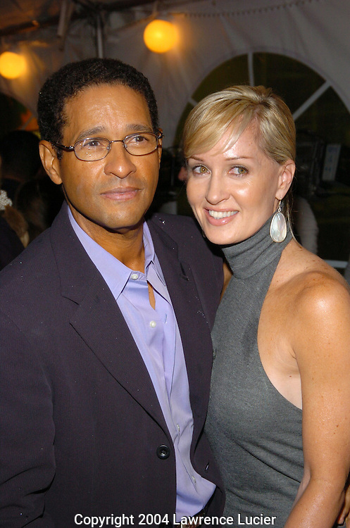 Bryant Gumbel and Hillary Quinlan