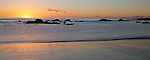 Sunrise on Shelly Beach, Port Macquarie, New South Wales.