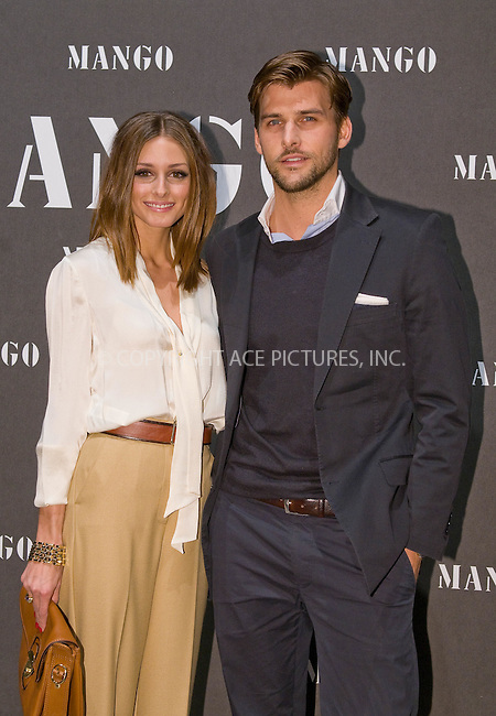 WWW.ACEPIXS.COM . . . . .  ..... . . . . US SALES ONLY . . . . .....November 16 2010, Madrid....Olivia Palermo and her boyfriend Johannes Huebl attend the Mango new collection at the Palacio de Cibeles on November 16 2010 in Madrid..(C) O.Gonzalez-Astufoto....Please byline: FD-ACE PICTURES... . . . .  ....Ace Pictures, Inc:  ..tel: (212) 243 8787 or (646) 769 0430..e-mail: info@acepixs.com..web: http://www.acepixs.com