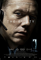 Theatrical one-sheet <br /> The Guilty (2018) <br /> Den skyldige (2018)<br /> *Filmstill - Editorial Use Only*<br /> CAP/RFS<br /> Image supplied by Capital Pictures