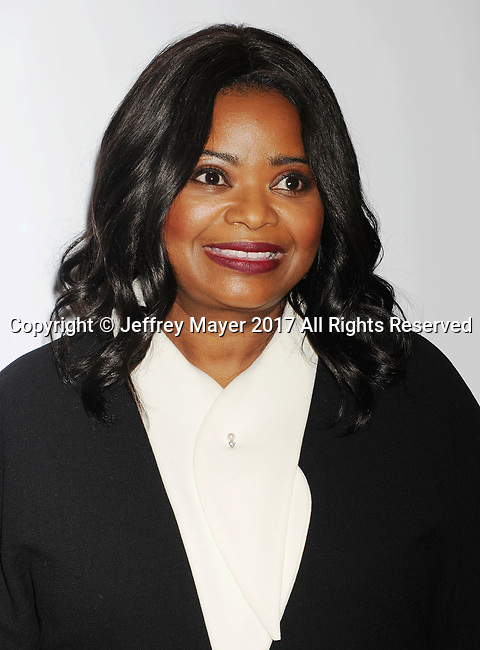 PASADENA, CA - FEBRUARY 11: Actress Octavia Spencer arrives at the 48th NAACP Image Awards at Pasadena Civic Auditorium on February 11, 2017 in Pasadena, California.