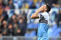 Luis Alberto of Lazio reacts <br /> Roma 5-5-2019 Stadio Olimpico Football Serie A 2018/2019 SS Lazio - Atalanta <br /> Foto Andrea Staccioli / Insidefoto