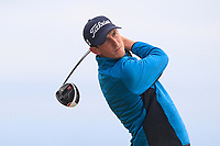Tiarnan McLarnon (Masereene) on the 2nd tee during Round 3 of the East of Ireland Amateur Open Championship 2018 at Co. Louth Golf Club, Baltray, Co. Louth on Monday 4th June 2018.<br /> Picture:  Thos Caffrey / Golffile<br /> <br /> All photo usage must carry mandatory copyright credit (&copy; Golffile | Thos Caffrey)