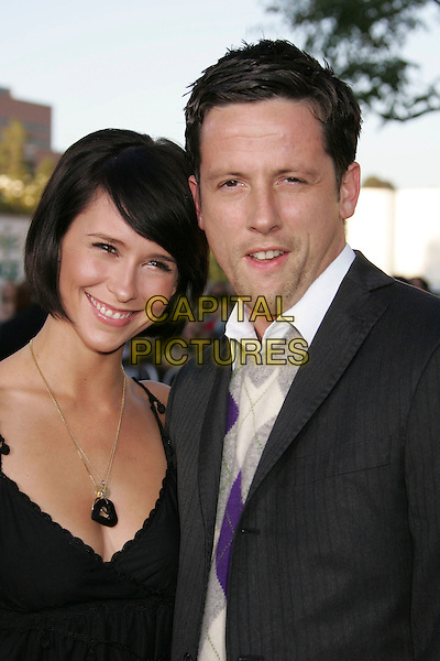 "JENNIFER LOVE HEWITT & ROSS McCALL.""The Break Up"" Los Angeles Premiere held at the Mann Village Theater, Westwood, California, USA, .22 May 2006..portrait headshot.Ref: ADM/RE.www.capitalpictures.com.sales@capitalpictures.com.©Russ Elliot/AdMedia/Capital Pictures."