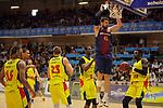 XXXVIII Lliga Nacional Catalana ACB 2017.<br /> FC Barcelona Lassa vs BC Morabanc Andorra: 89-70.<br /> Adrien Moerman.