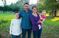 11/11/12 5:31:47 PM - Washington Crossing, PA. --  Beach Family -- November 11, 2012 in Washington Crossing, Pennsylvania -- (Photo by William Thomas Cain/Cain Images)