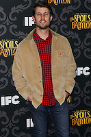"LOS ANGELES, CA - JANUARY 07: Jon Heder arriving at the Los Angeles Screening Of IFC's ""The Spoils Of Babylon"" held at the Directors Guild Of America on January 7, 2014 in Los Angeles, California. (Photo by Xavier Collin/Celebrity Monitor)"
