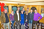 The staff of Ballinskelligs Veterinary Products held their Christmas party in the Ring of Kerry Hotel on Saturday night last pictured her front l-rJoe Walsh, Eileen Garvey, Eileen Sugrue, Rhona Goggin, Lorraine Sheehan O'Neill, Mark County, Sean Costello, back l-r; John Whorton, John King & Michael Cox.