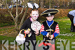 Katie and Conor Keegan, Kilflynn at the Kids Fancy Dress Easter Fun Run in Tralee Town Park on Saturday