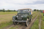 1950s Land Rover Series 1 80 inch. Dunsfold Collection of Land Rovers Open Day 2011, Dunsfold, Surrey, UK. --- No releases available, but releases may not be necessary for certain uses. Automotive trademarks are the property of the trademark holder, authorization may be needed for some uses.