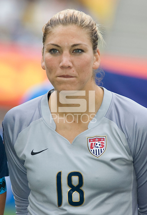 Hope Solo.  The USWNT defeated Canada, 1-0, at Suwon World Cup Stadium in Suwon, South Korea, to win the Peace Queen Cup.
