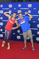 "LOS ANGELES - AUG 24:  Thomas Stillings, Casey Suchoki at the ""American Ninja Warrior"" Screening Event at the Universal Studios on August 24, 2016 in Universal City, CA"
