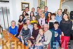 Ursula Scullion from Abbeydorney celebrating her birthday in Bella Bia on Saturday<br /> Seated l to r: Tom Scullion, Sarah Slattery, Ursula Scullion, Pat Slattery, Sheena Scullion and Tom Slattery.