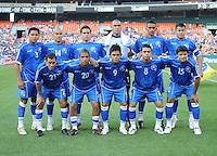 El Salvador National Team team photo.   DC United defeated El Salvador National Team 1-0 in a international charity match at RFK Stadium, Saturday June 19, 2010.