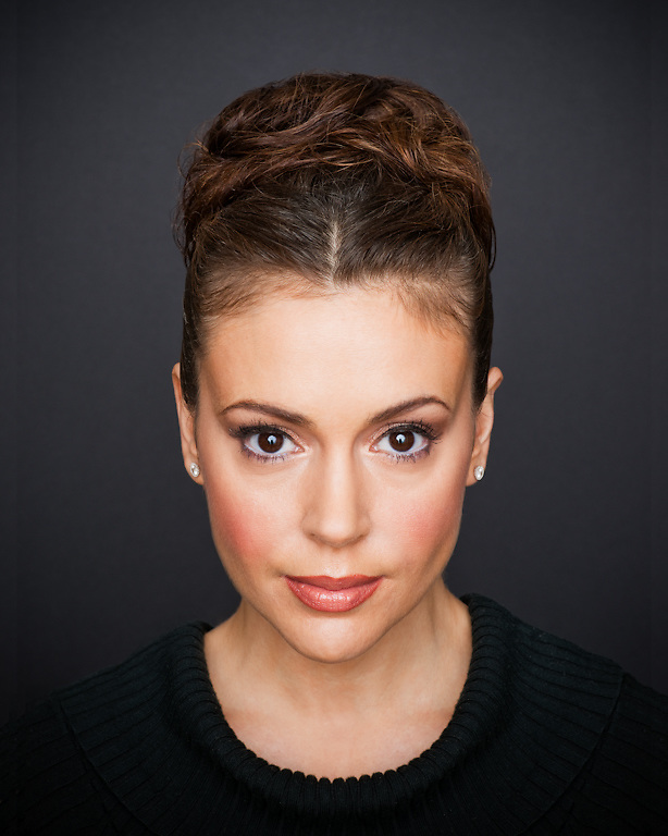 Alyssa Milano photographed for The Creative Coalition at Haven House in Beverly Hills, California on February 20, 2009