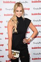 Amanda Clapham at the Inside Soap Awards 2017 held at the Hippodrome, Leicester Square, London, UK. <br /> 06 November  2017<br /> Picture: Steve Vas/Featureflash/SilverHub 0208 004 5359 sales@silverhubmedia.com