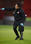 Korn Piangcharoen Sheffield Utd U23 physio during the Professional Development League match at Bramall Lane, Sheffield. Picture date: 26th November 2019. Picture credit should read: Simon Bellis/Sportimage