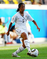 USA's Rachel Quon during the FIFA U20 Women's World Cup at the Rudolf Harbig Stadium in Dresden, Germany on July 14th, 2010.