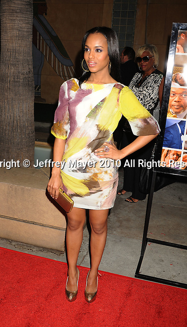 """HOLLYWOOD, CA. - April 19: Kerry Washington arrives at the Los Angeles Premiere of """"Mother And Child"""" at the Egyptian Theatre on April 19, 2010 in Hollywood, California."""