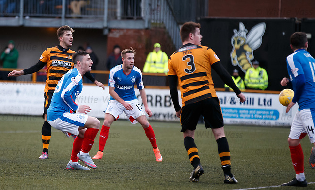 Michael O'Halloran turns in the cross to score for Rangers and equalise