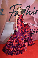 Laura Bailey at the Fashion Awards 2016 at the Royal Albert Hall, London. December 5, 2016<br /> Picture: Steve Vas/Featureflash/SilverHub 0208 004 5359/ 07711 972644 Editors@silverhubmedia.com