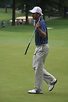 Charl Schwartzel (RSA) on the10th green on day 1 of the World Golf Championship Bridgestone Invitational, from Firestone Country Club, Akron, Ohio. 4/8/11.Picture Fran Caffrey www.golffile.ie